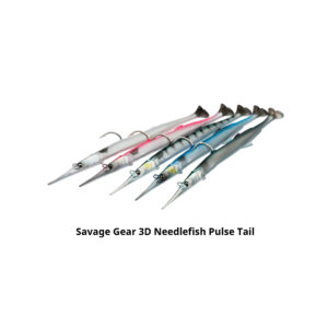 Savage Gear 3D Needlefish Pulse Tail